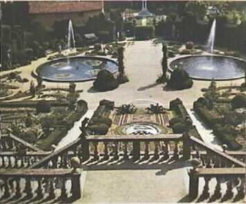 Artemisia gentileschi il giardino giardino all 39 italiana - Giardino all italiana ...