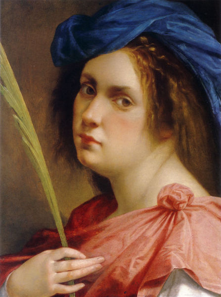 Autoritratto Artemisia Gentileschi